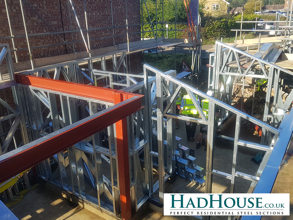 Where a structure needs it, Hot-rolled steel will be incorporated into the build to add to the structural integrity of the building.