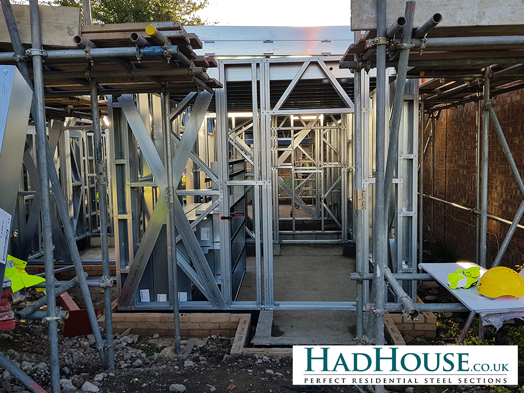 Structural openings are built directly into the frames. This aids with cutting down the amount of alterations and cutting needed on site.