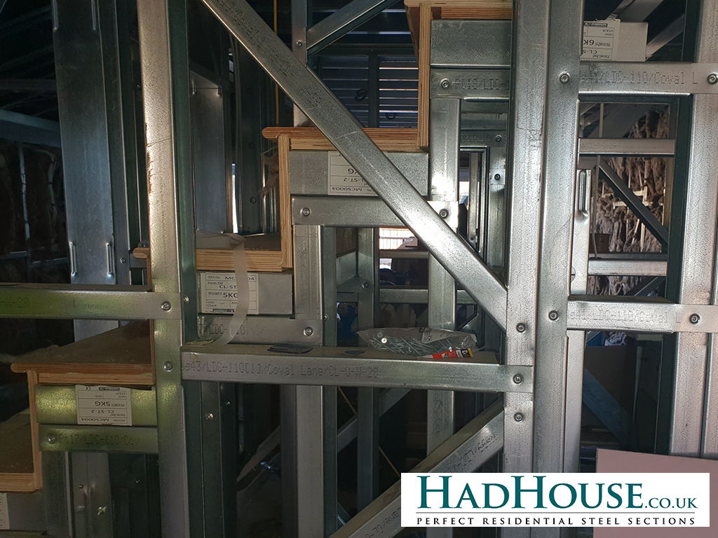 Our system can incorporate stairs into the design and build with relative ease.
